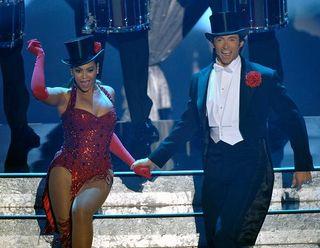Hugh, Beyonce and Two Top Hats